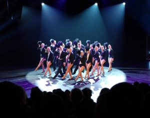 A Chorus Line - Slutproduktion 2016. Foto: Johan Bjellsäter